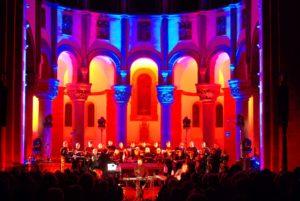 Dillinger Lichtsinfonie 2007 im Saardom